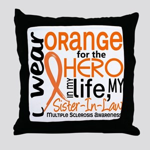 Hero In Life 2 MS Throw Pillow