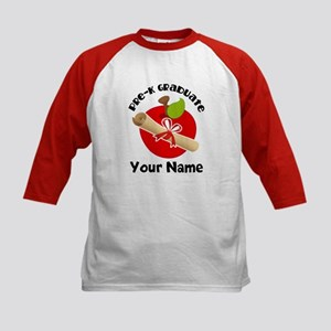 Personalized Pre-K Graduate Kids Baseball Jersey