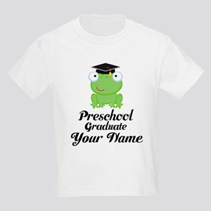 Personalized Preschool Graduate Kids Light T-Shirt