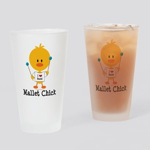 Mallet Chick Drinking Glass