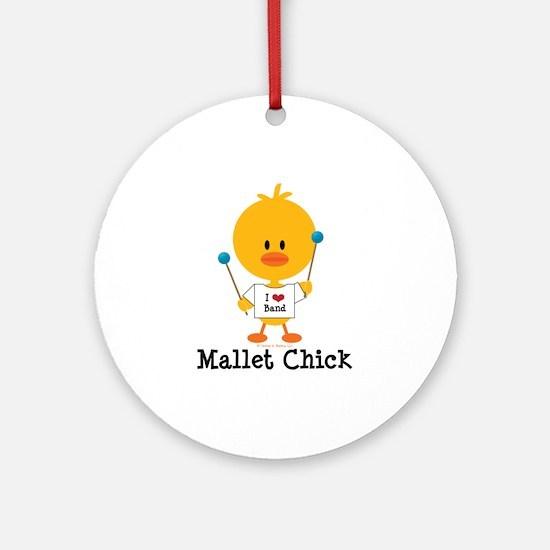 Mallet Chick Ornament (Round)
