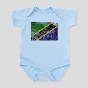 Tanzania Flag Infant Bodysuit