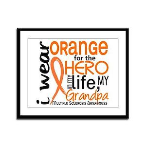 Hero In Life 2 MS Framed Panel Print