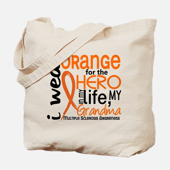 Hero In Life 2 MS Tote Bag