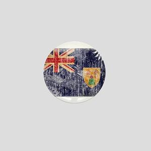 Turks and Caicos Flag Mini Button