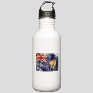 Turks and Caicos Flag Stainless Water Bottle 1.0L