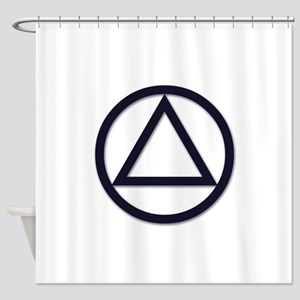 A.A. Symbol Basic - Shower Curtain