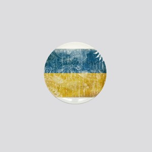 Ukraine Flag Mini Button
