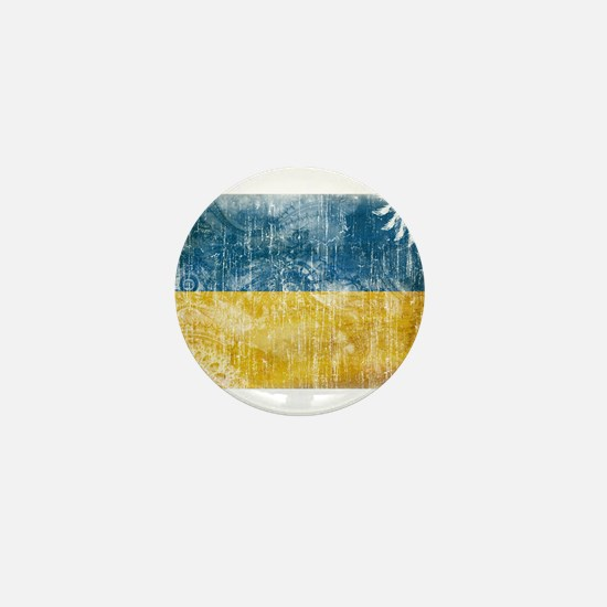 Ukraine Flag Mini Button