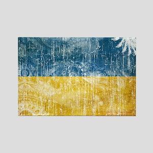 Ukraine Flag Rectangle Magnet