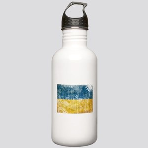 Ukraine Flag Stainless Water Bottle 1.0L