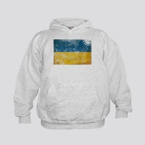 Ukraine Flag Kids Hoodie