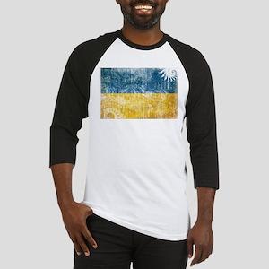 Ukraine Flag Baseball Jersey