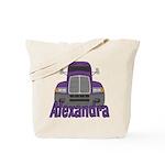 Trucker Alexandra Tote Bag
