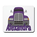 Trucker Alexandra Mousepad