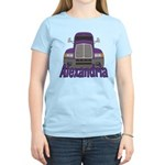 Trucker Alexandria Women's Light T-Shirt