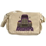 Trucker Alexandria Messenger Bag