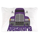Trucker Alexandria Pillow Case