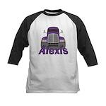 Trucker Alexis Kids Baseball Jersey