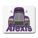 Trucker Alexis Mousepad
