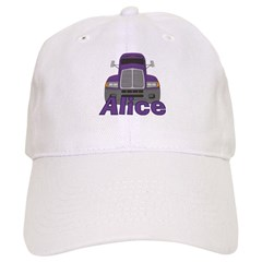 Trucker Alice Baseball Cap