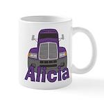 Trucker Alicia Mug
