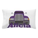 Trucker Alicia Pillow Case