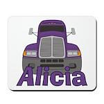 Trucker Alicia Mousepad