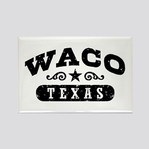 Waco Texas Rectangle Magnet