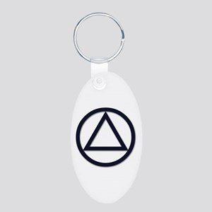 N.A. Logo Classics - Aluminum Oval Keychain
