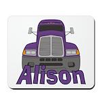 Trucker Alison Mousepad