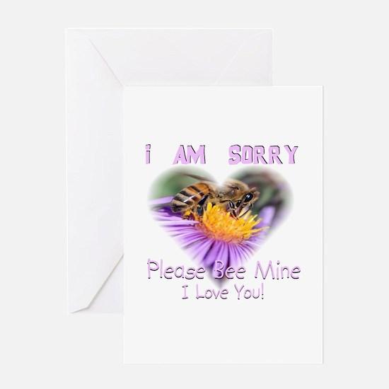 I'm Sorry: 0001 Greeting Card