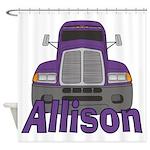 Trucker Allison Shower Curtain