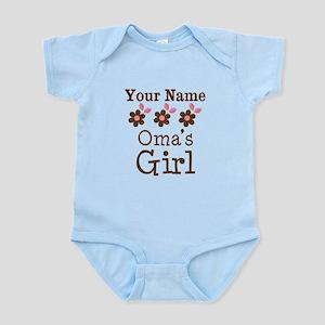 Personalized Oma's Girl Infant Bodysuit