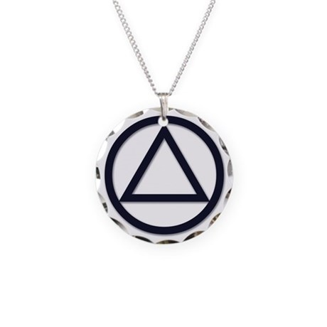 Aa Symbol Basic Necklace Circle Charm By Aanagear