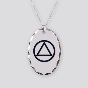 A.A. Symbol Basic - Necklace Oval Charm