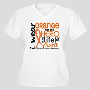 Hero In Life 2 MS Women's Plus Size V-Neck T-Shirt