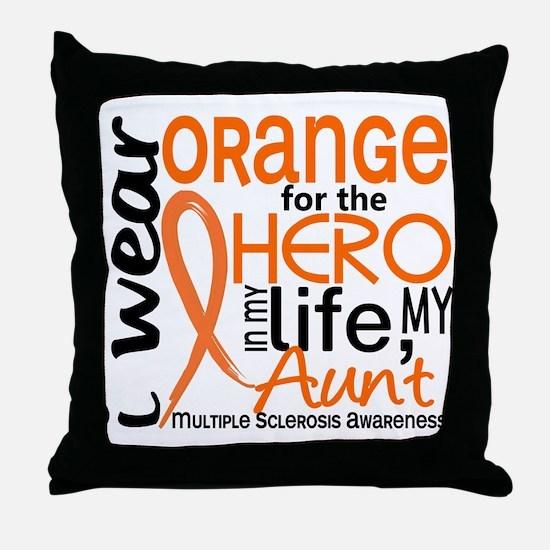 Hero In Life 2 MS Throw Pillow