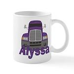 Trucker Alyssa Mug