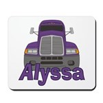 Trucker Alyssa Mousepad