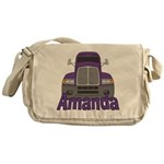 Trucker Amanda Messenger Bag