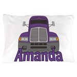 Trucker Amanda Pillow Case