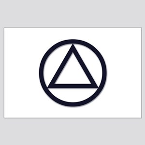 A.A. Symbol Basic - Large Poster