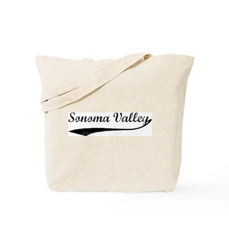 Sonoma Valley - Vintage Tote Bag