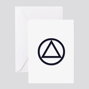A.A. Symbol Basic - Greeting Card