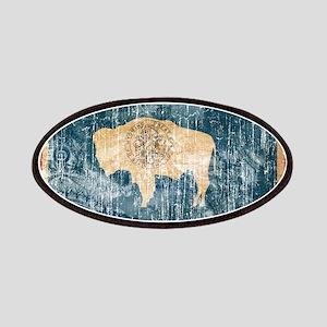 Wyoming textured Crazeh Paisleh aged copy Patc