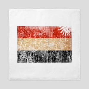 Yemen Flag Queen Duvet