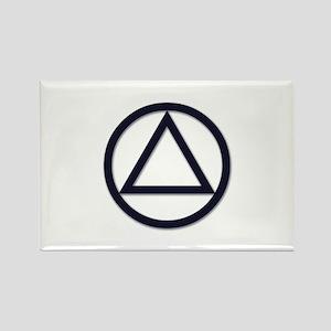 A.A. Symbol Basic - Rectangle Magnet