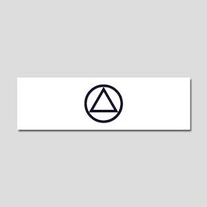 A.A. Symbol Basic - Car Magnet 10 x 3