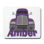 Trucker Amber Mousepad